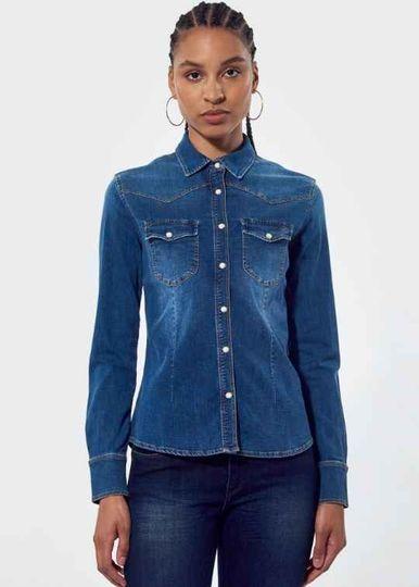 Chemises en jean