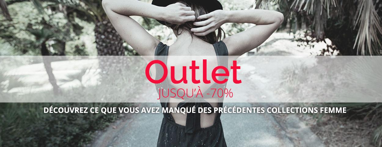 Outlet : Jusqu'à -70%