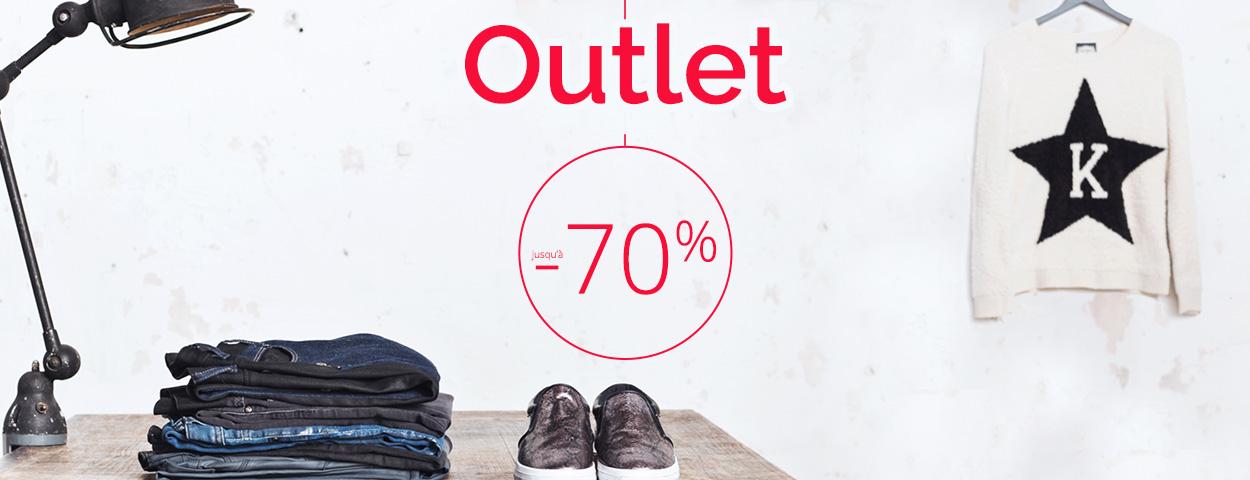 Outlet   Jusqu'à -70%