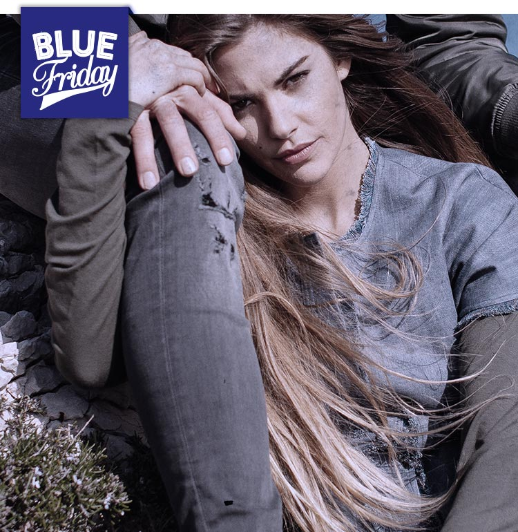 Blue friday femme
