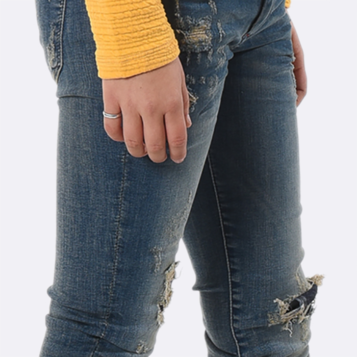 Tendance jeans fille