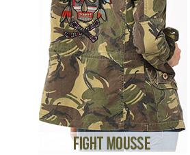 veste femme fight mousse