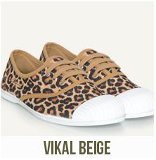 chaussures femme vikal beige