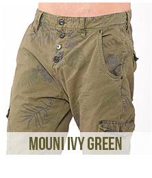 pantacourt homme mouni ivy green