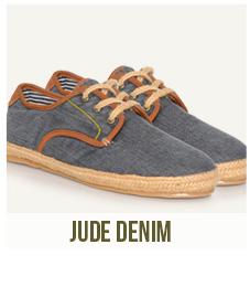 chaussures homme jude denim